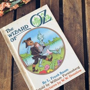 Vintage Hardcover The Wizard Of Oz
